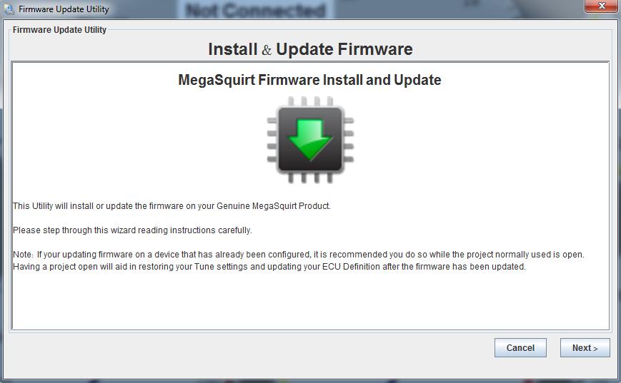 msextra firmware update