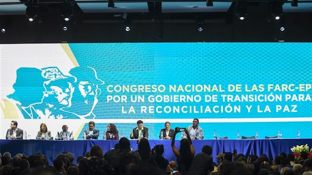 Colombia's former FARC rebels move to launch political party