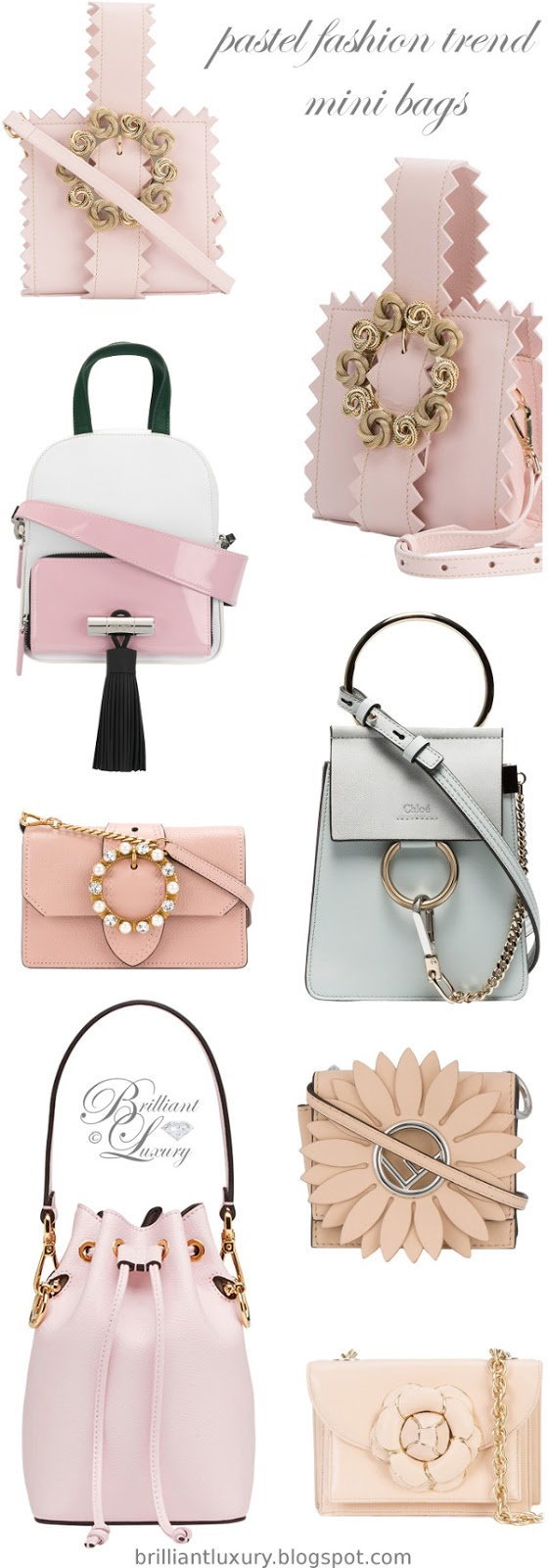 Brilliant Luxury ♦ pastel fashion trend ~ mini bags