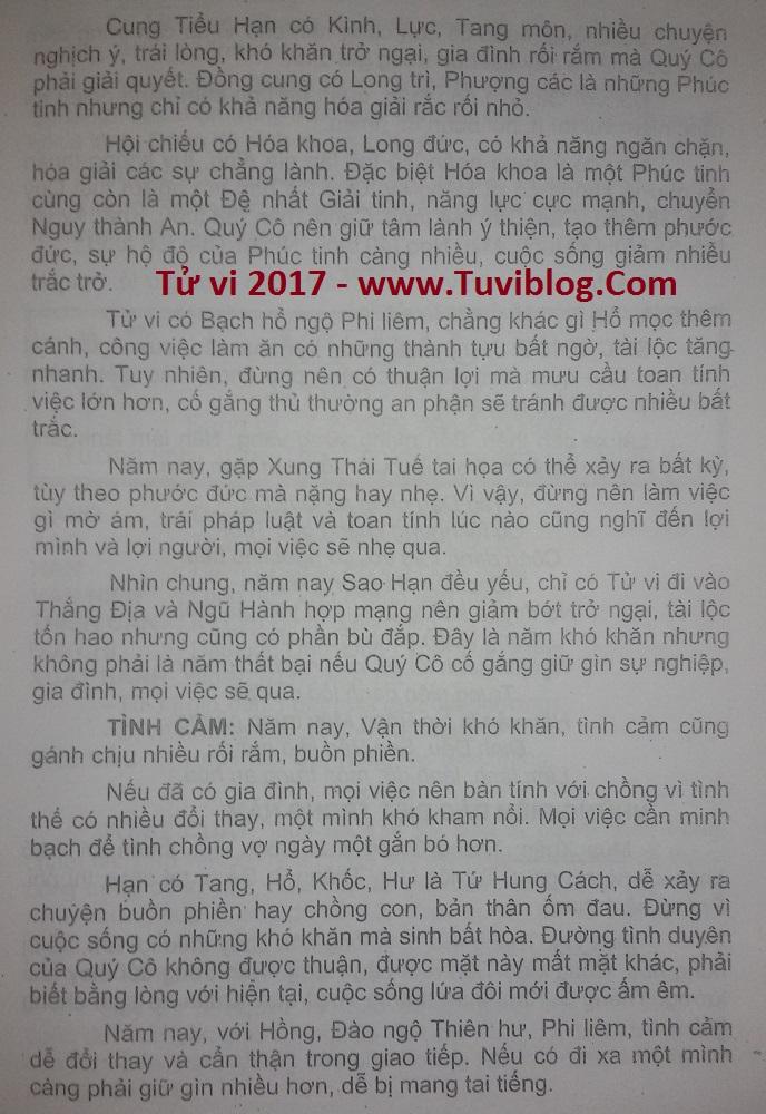 Tu vi Tuoi Tan Dau