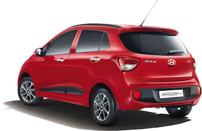 New 2017 Hyundai Grand i10 Facelift rear side look