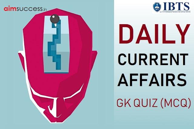 Daily Current Affairs Quiz: 20 November 2018