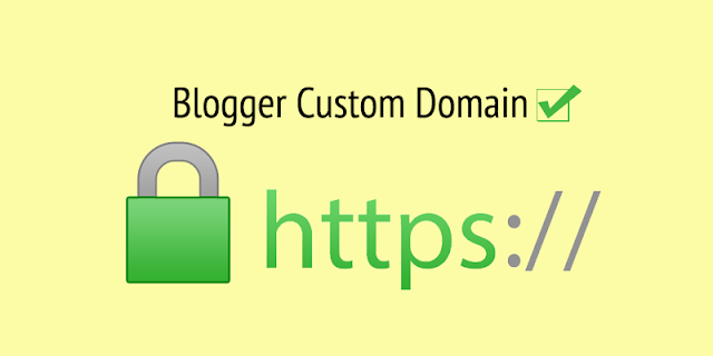 Blogger custom domain-ah SSL (https) a hman ve theih ta