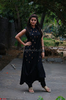 Actress Yamini Bhaskar in a Tight Black Sleeveless Dress ~  Exclusive 46.JPG