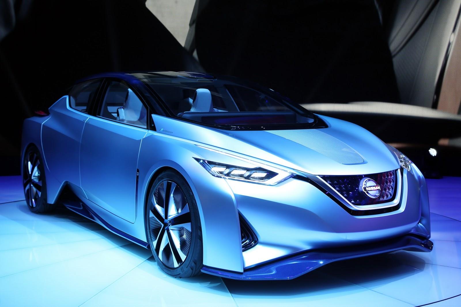 Nissan IDS Concept là mẫu xe điện vô cùng đẹp tại Geneva lần này