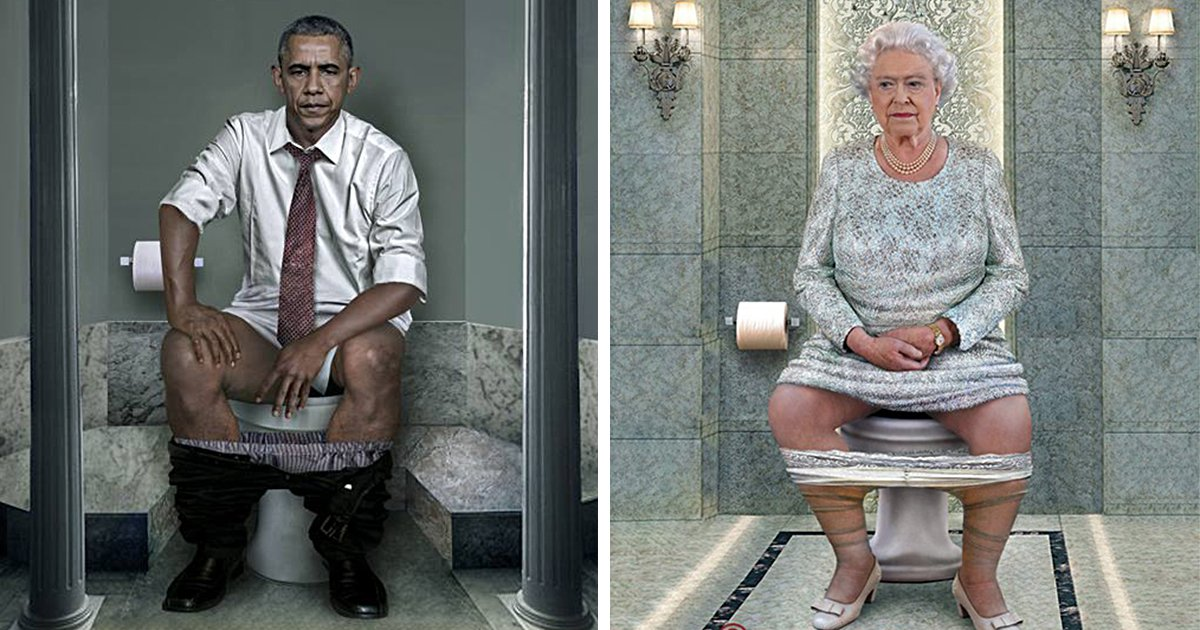 Artist Reminds Us In The Most Hilarious Way That World Leaders Are Just People