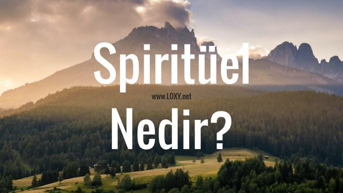 spiritüel ne demek