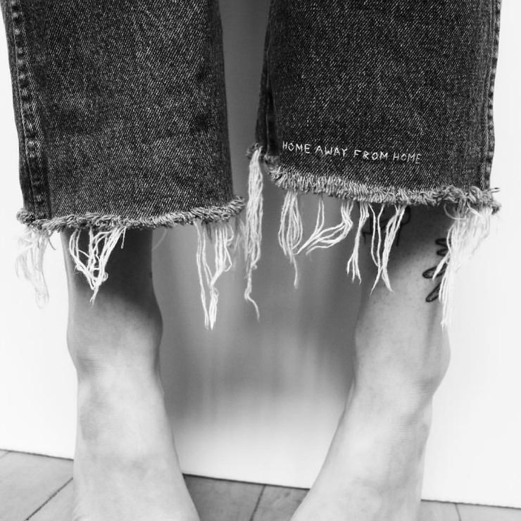 DIY jeans // Tumblr inspiration