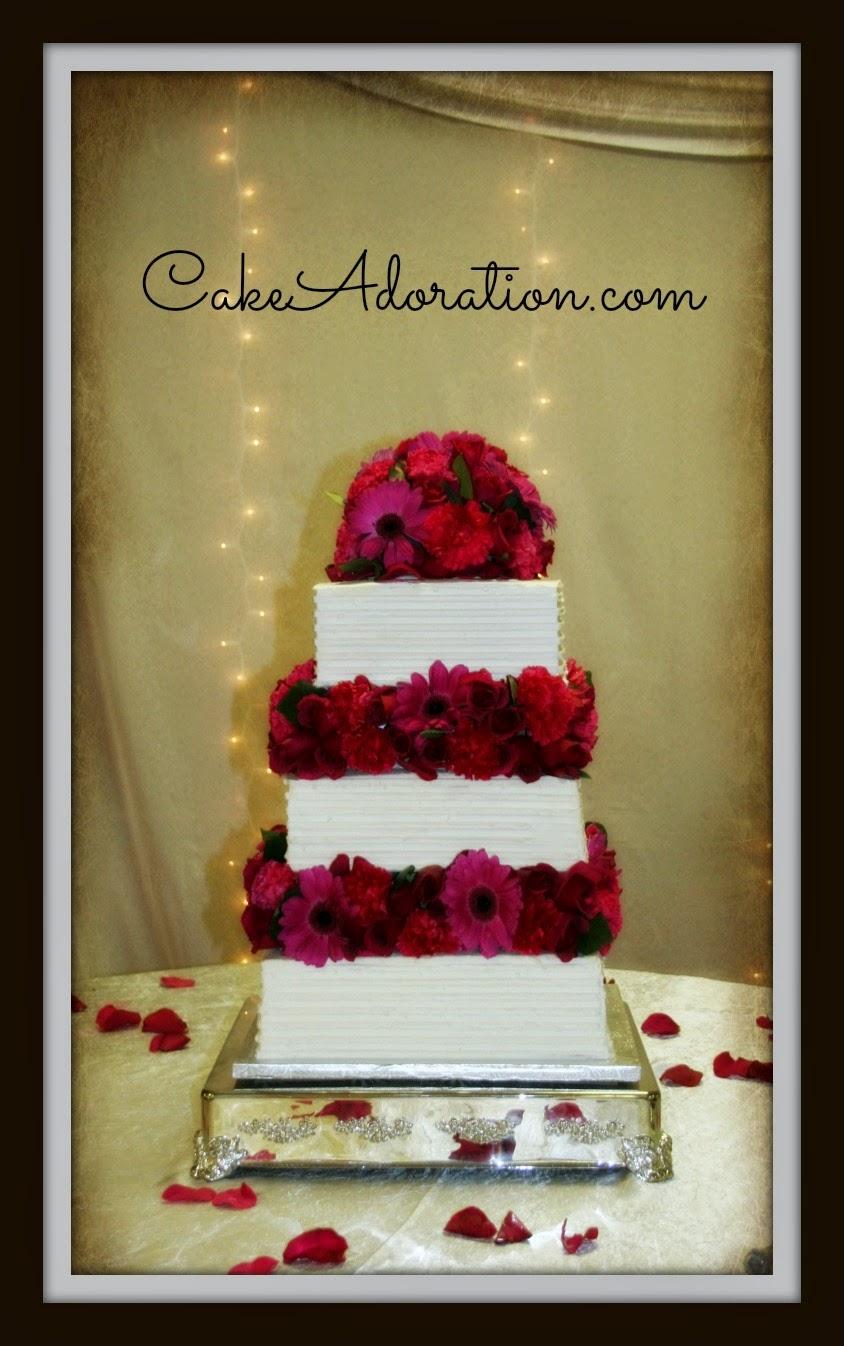 Wedding Cake Fushia