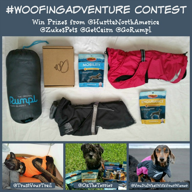 Join Oz on Instagram for #WoofingAdventure Contest