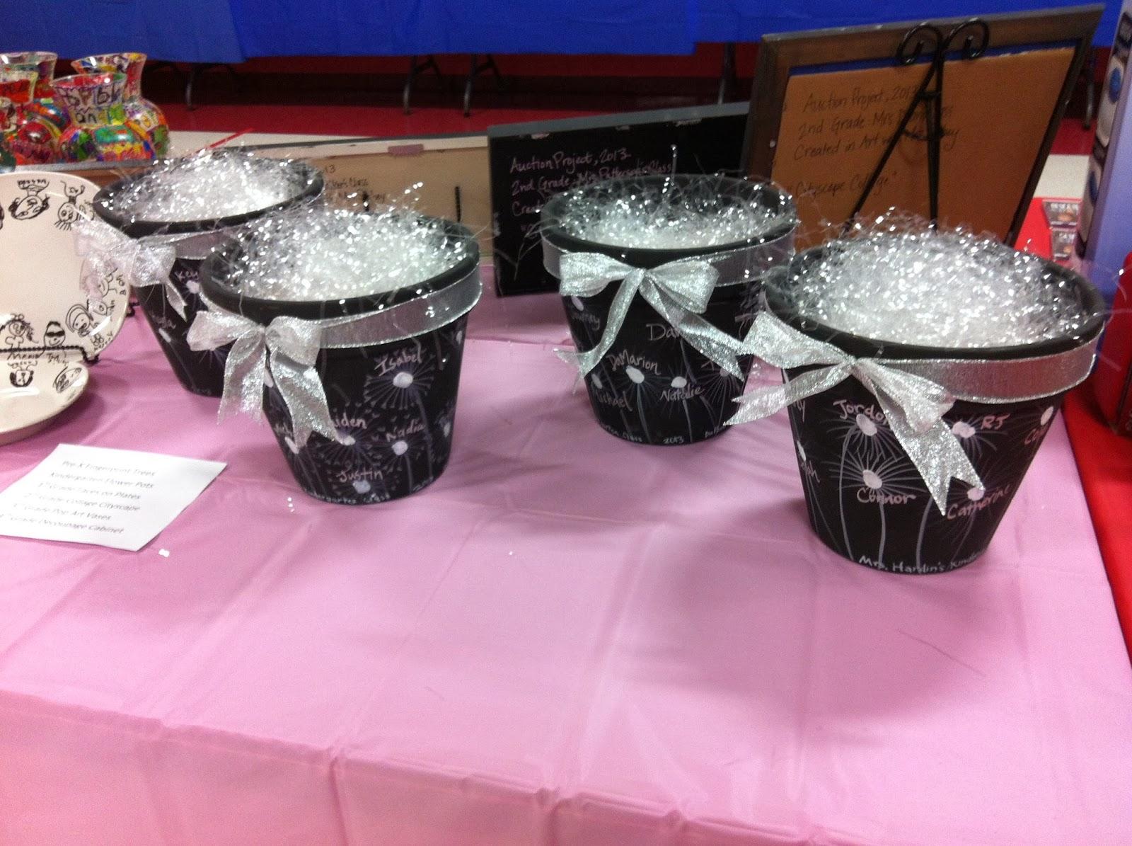 Chumleyscobey Art Room Kindergarten Flower Pots Auction