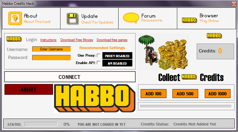 Image Result For Habbo Coin Generator Download Free