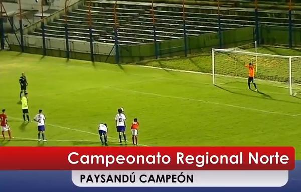 Paysandú Campeón en Sub 17