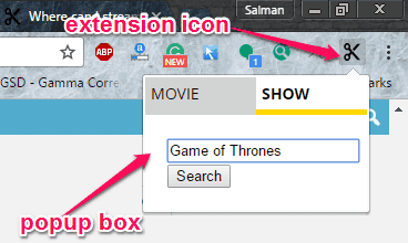 Cordcutter Search: nonton streaming film dan acara tv di google chrome