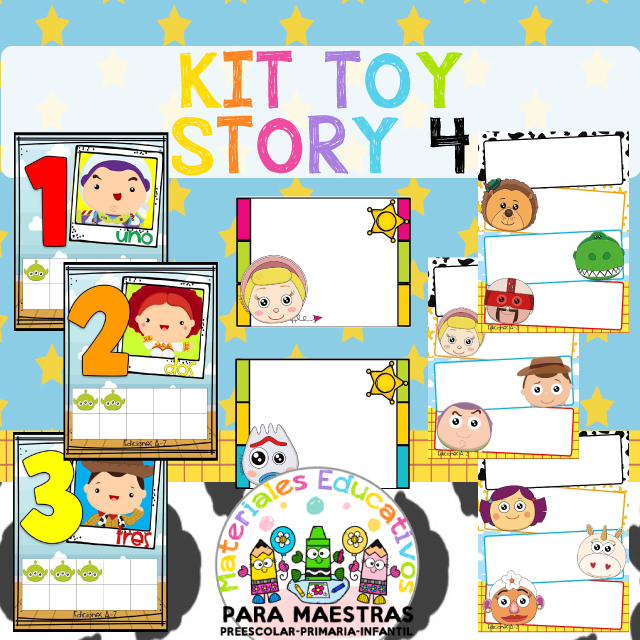 Kit Escolar de Toy Story 4