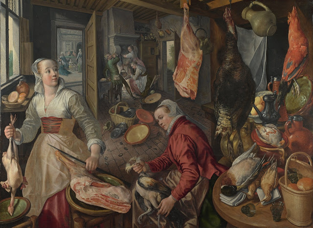 Joachim Beuckelaer, The Four Elements: Fire (1570)