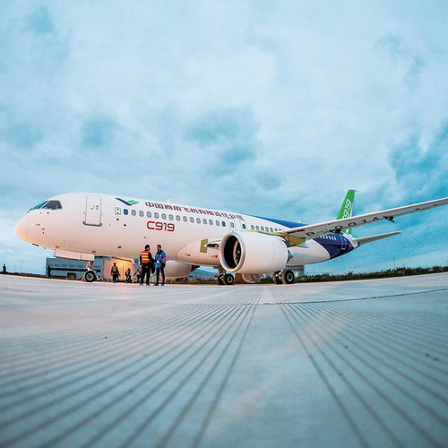 Tinuku COMAC C919 made in China soon shake dominance of Boeing and Airbus