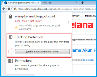 Cara Mematikan / Disable Adblock di Mozilla Firefox