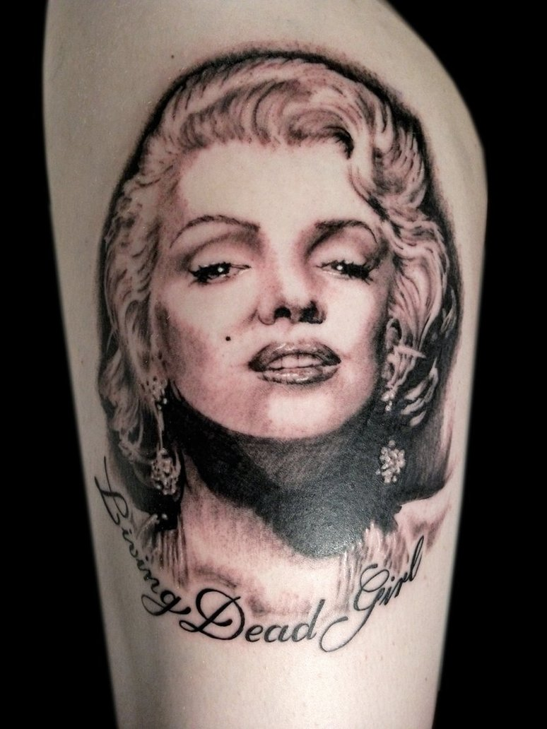 Marilyn Monroe Living Room Decorations: Whatevercathieb: Marilyn Monroe Tattoos Pictures