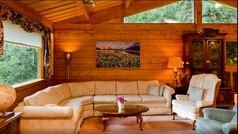 What Do I Know Alaskan Log Dream Home