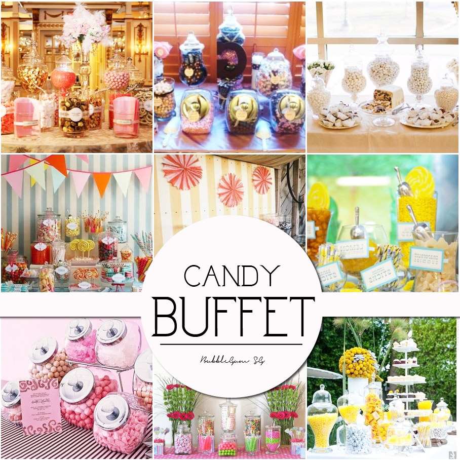 Dessert Table & Candy Buffet for Parties