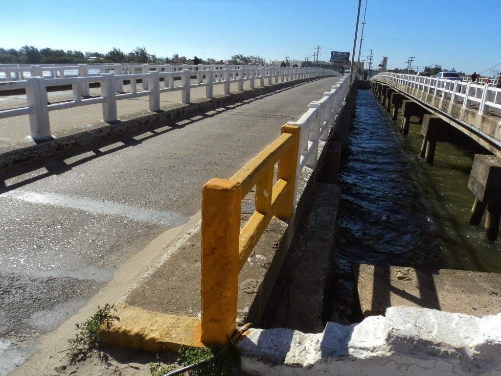 Ponte da Sardinha, sobre o Rio Tramandaí
