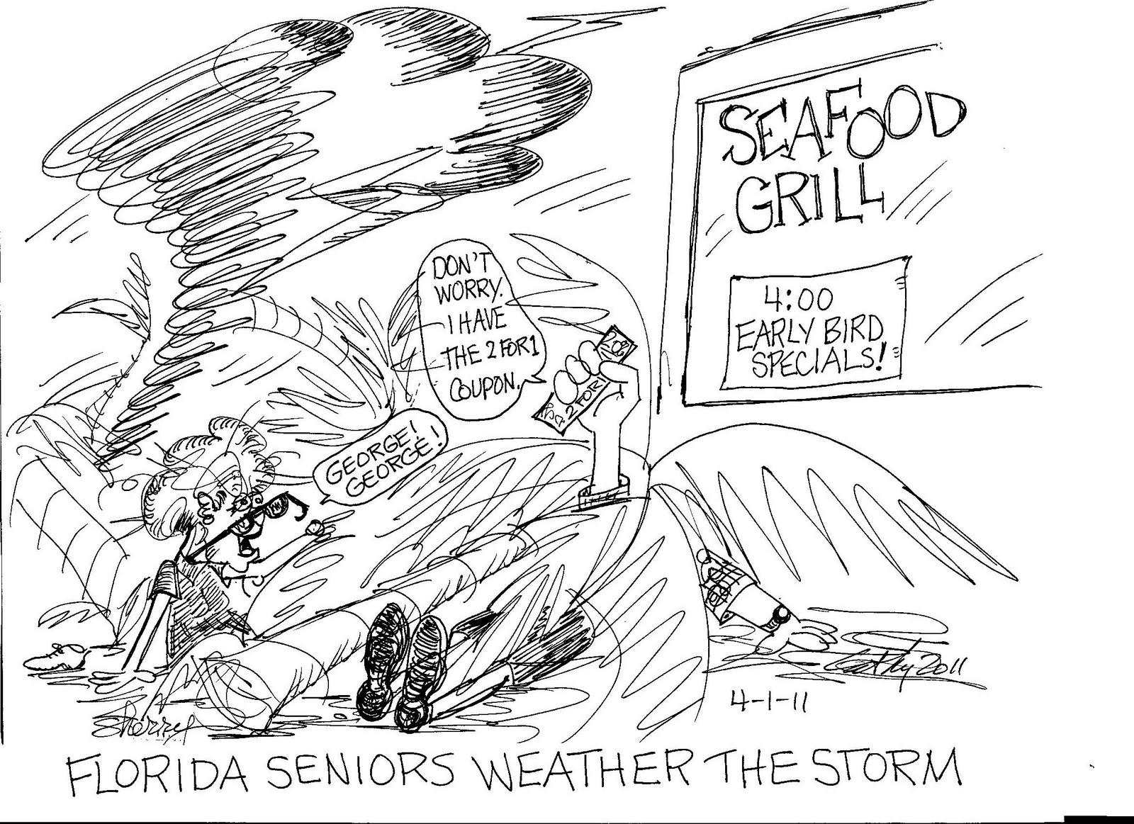 DoinMyToons: Stormy Florida Weather