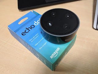 My Echo Dot just unpacked