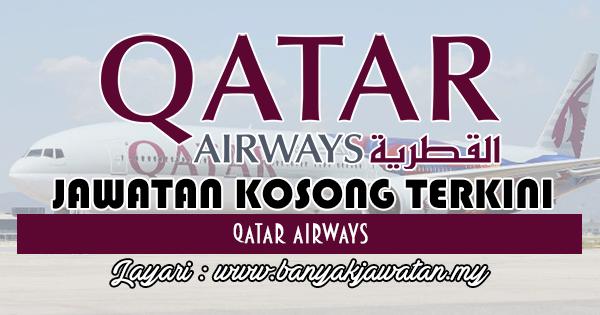 Jawatan Kosong 2017 di Qatar Airways