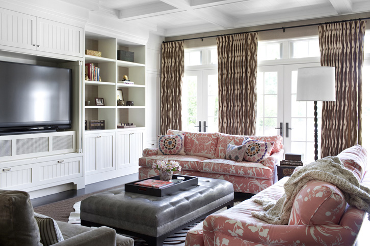 COCOCOZY: BEVERLY HILLS TUDOR HOME REVIVED! - Beach Cabinet Decor