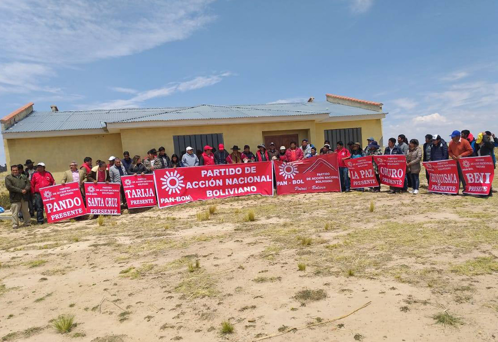 Encuentro del nuevo partido PAN en El Alto el fin de semana / PAN