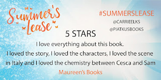 http://maureensbooks.blogspot.nl/2017/07/review-summers-lease-by-carrie-elks.html