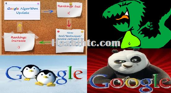 Algoritma Google Dari Masa Kemasa