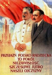 Przyjaźń polsko-radziecka - plakat