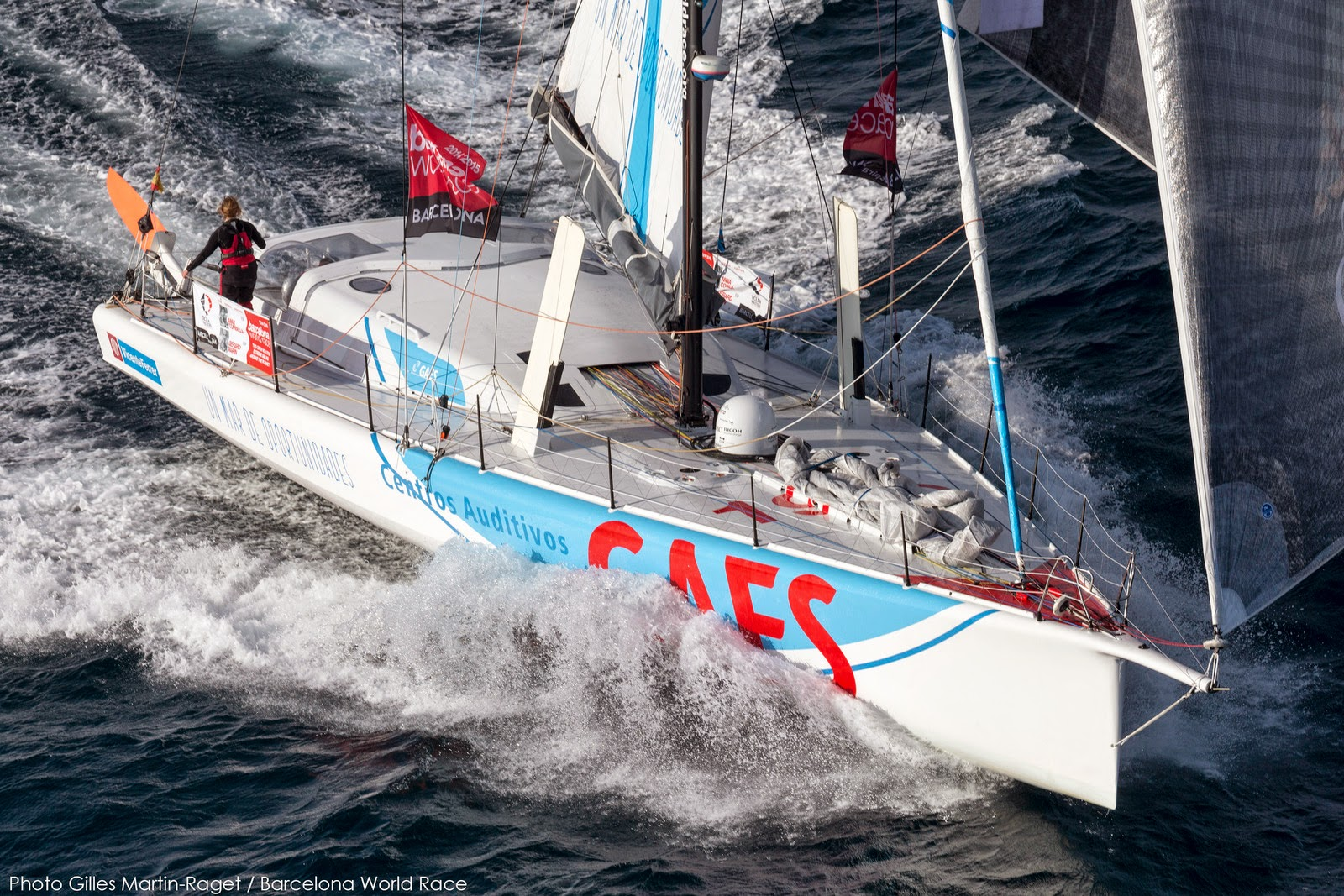 GAES bientôt 2e de la Barcelona World Race ?