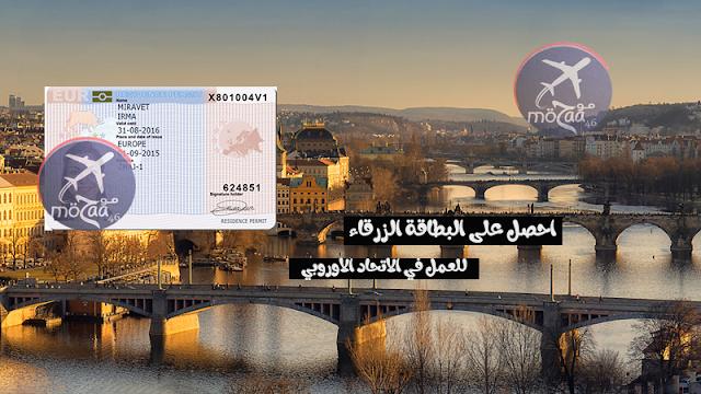 ماهي البطاقة الزرقاء للعمل في أوروبا و كيف تحصل عليها