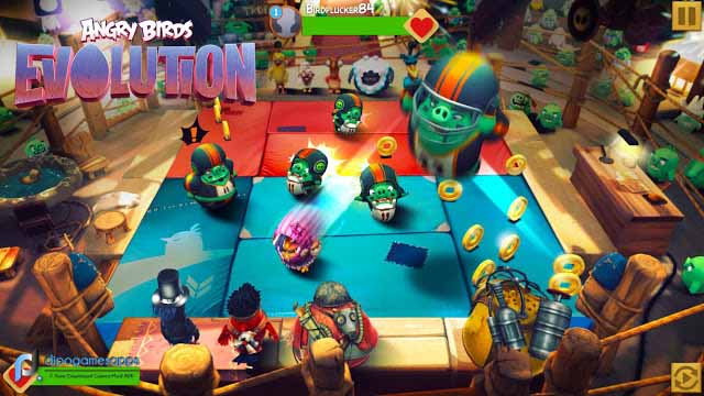 Download Angry Birds Evolution MOD APK High Damage/God Mode