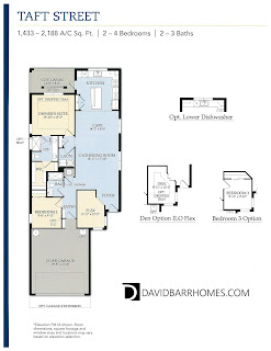 Taft Street floor plan in Islandwalk Venice FL