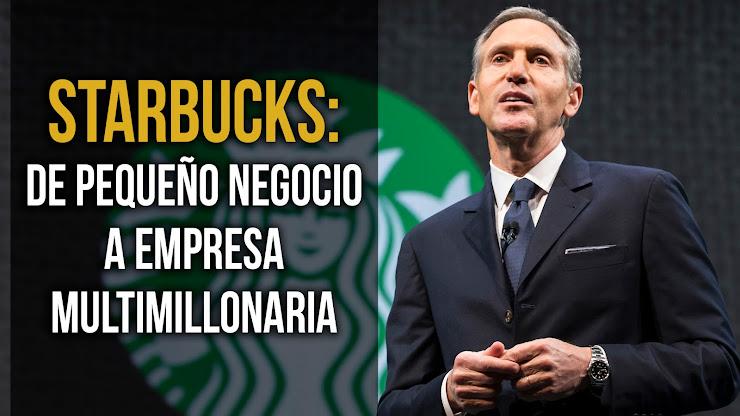 La historia de Howard Schultz, el CEO que convirtió a Starbucks en una empresa multimillonaria