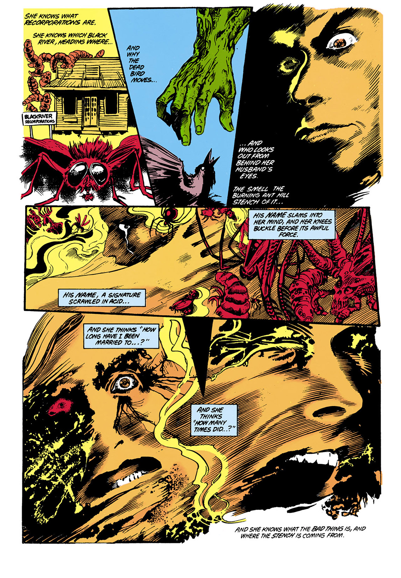 Swamp Thing (1982) Issue #29 #37 - English 18