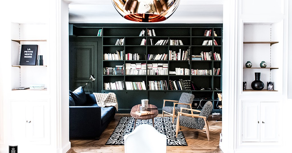 Decordemon sophisticated parisian apartment by royal for Roulotte decoration