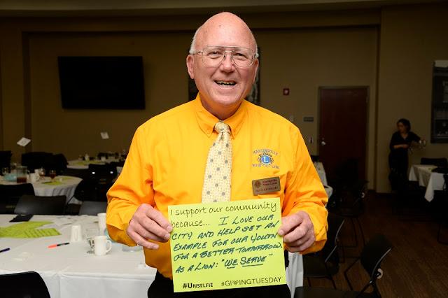 Dave Rinehart, Martinsville Noon Lions Club