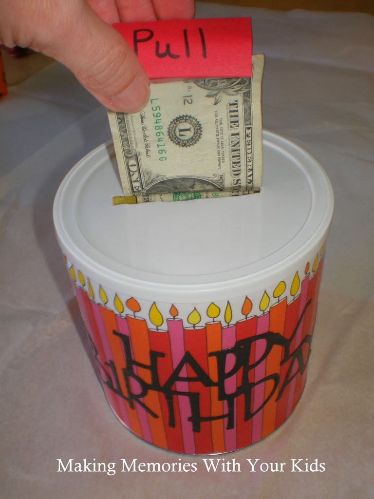 How Much Money In The Dollar Bill Birthday Cake