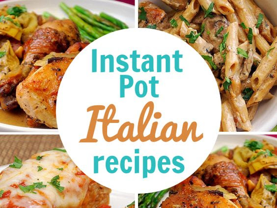 Instant Pot: Our Favorite Italian Recipes!