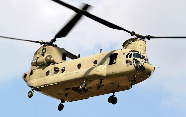 Chinook(the game changer) is with india now?