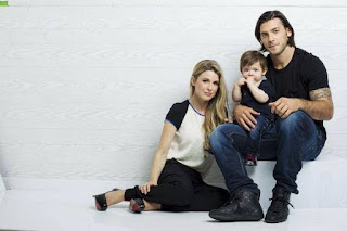 Kris Letang's Wife Catherine LaFlamme and baby