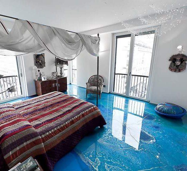 Porcelanato l quido e piso 3d for Resina epossidica per legno leroy merlin