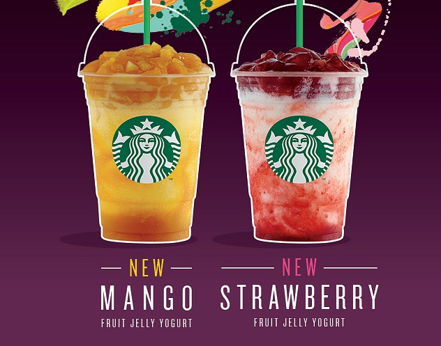 Brighten up your day with refreshing new Starbucks Frappuccino® flavors