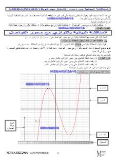 المناقشة البيانية لمستقيم بيان دالة math-3as-fonctions1.