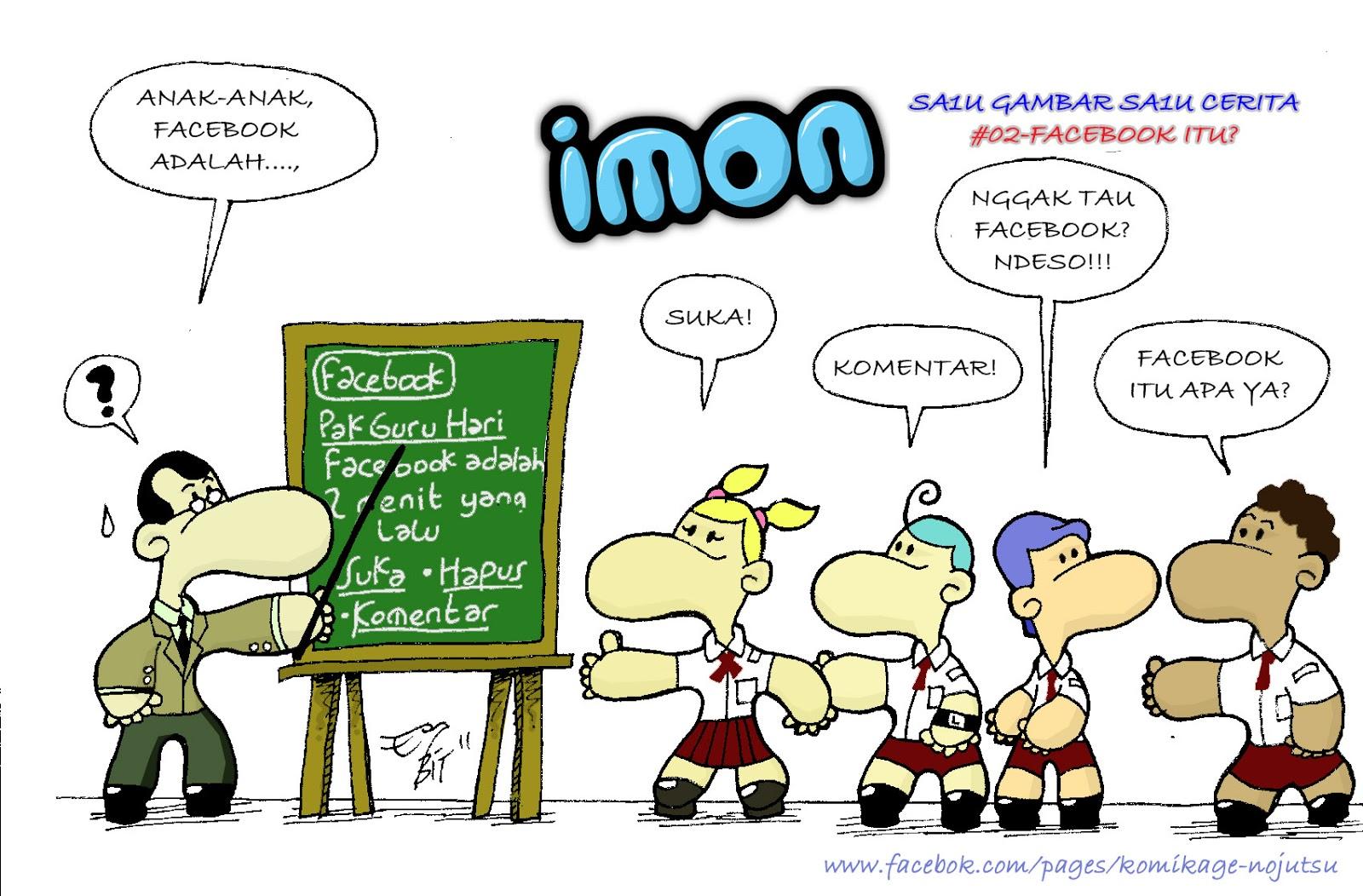 5 Komik Kartun Lucu Untuk Anak Anak